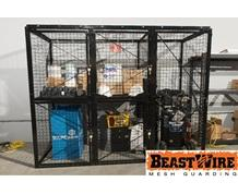 MESH STORAGE LOCKERS